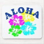 Aloha cru tapis de souris