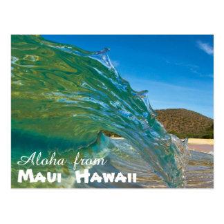 Aloha de Maui Hawaï Carte Postale