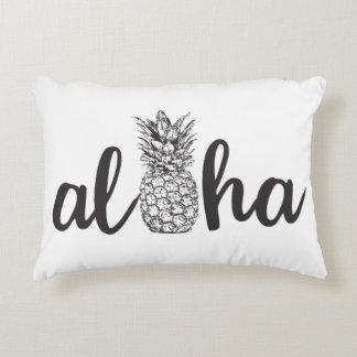 aloha décor tropical de maison de coussin d'accent