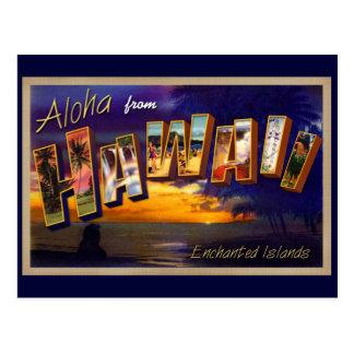 Aloha d'Hawaï Carte Postale