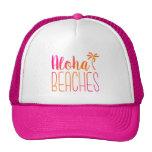 Aloha échoue le casquette rose et orange de | de
