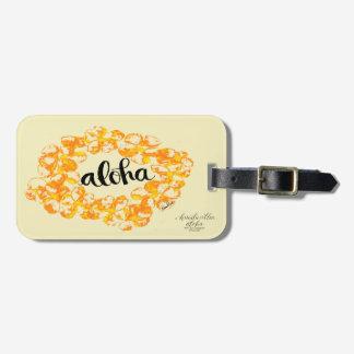 Aloha étiquettes de sac de Lei Étiquettes Bagages