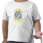 Aloha faire de la planche à voile de troncs t-shirt
