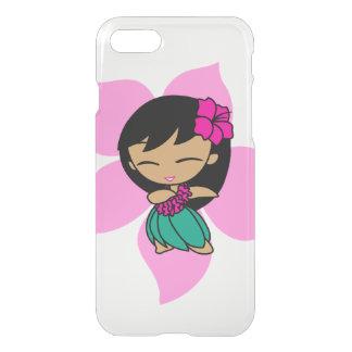 Aloha fille de danse polynésienne rose hawaïenne coque iPhone 7