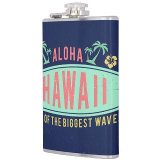 Aloha flacons faits sur commande de monogramme de flasques