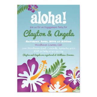 Aloha invitation de Luau d'été