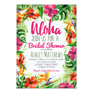 Invitations & Faire-part Tropical personnalisés | Zazzle.fr