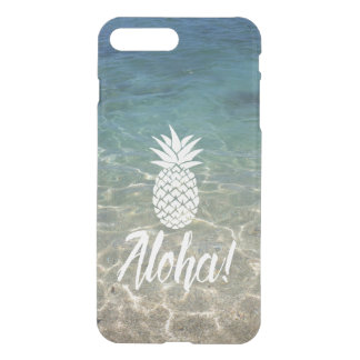 Aloha plage tropicale d'ananas coque iPhone 8 plus/7 plus