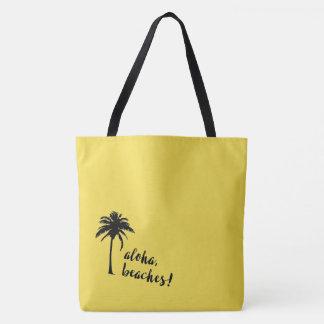 Aloha, plages ! sac fourre-tout