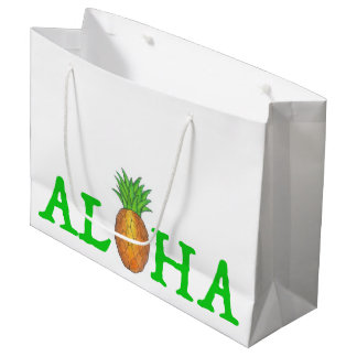 ALOHA sac hawaïen de cadeau d'ananas d'île