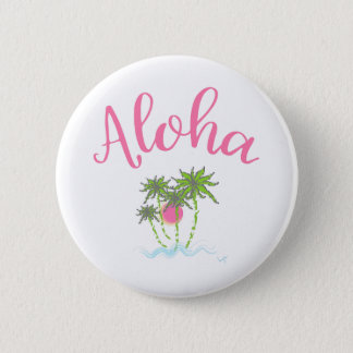 Aloha style hawaïen Summera de plages Badge