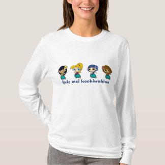 """Aloha sweat - shirt à capuche de dames de miels"""