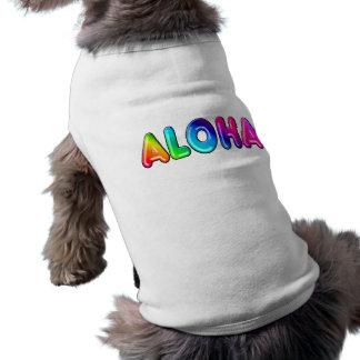 Aloha T-shirt Pour Chien