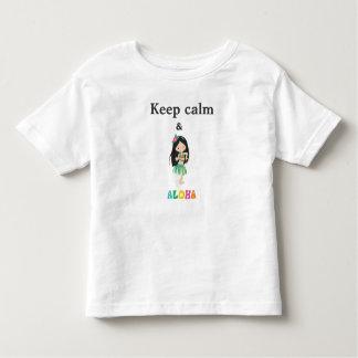 Aloha T-shirt Pour Les Tous Petits