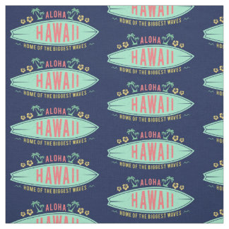Aloha tissu hawaïen de coutume de surfer