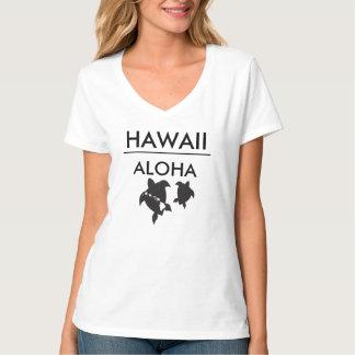 Aloha tortues d'îles d'Hawaï T-shirt