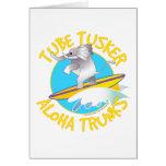 Aloha tube Tusker de troncs Carte