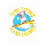 Aloha tube Tusker de troncs Cartes Postales