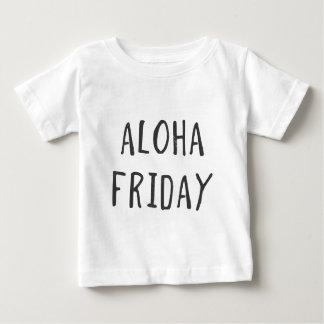 Aloha vendredi t-shirt pour bébé