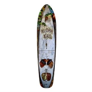 Aloha VOUS planche à roulettes tropicale Plateaux De Skateboards