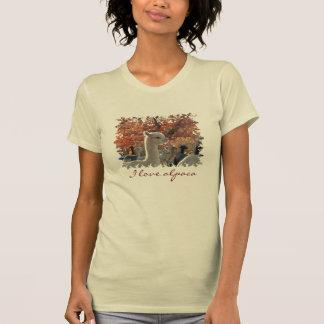 Alpaga d'amour du T-shirt I