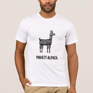 Alpaga de projet t-shirt