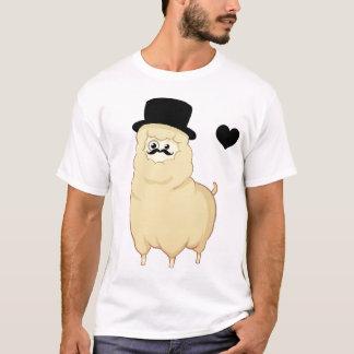 Alpaga mignon de monsieur t-shirt