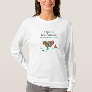 Alpaga mon T-shirt à manches longues de valise
