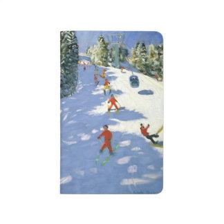 Alpes autrichiens 2004 de gondole carnet de poche