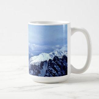 Alpes autrichiens en hiver mug