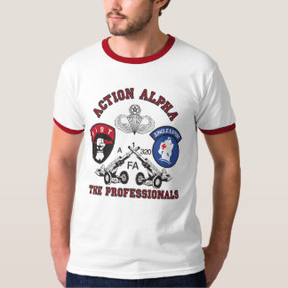 Alpha chemise de pinte d'action t-shirt