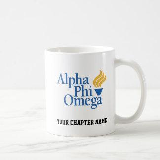 Alpha couleur d'Omega de phi - torche Mug