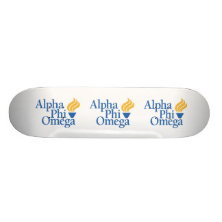 Alpha couleur d'Omega de phi - torche Skateoard Personnalisé