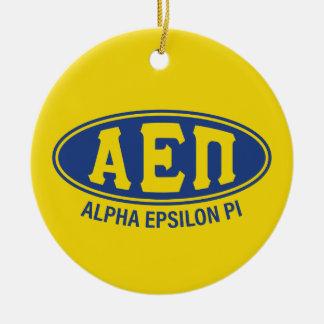 Alpha cru de l'epsilon pi   ornement rond en céramique