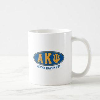 Alpha cru de livre par pouce carré   de Kappa Mug