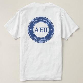 Alpha insigne de l'epsilon pi   t-shirt