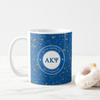 Alpha insigne de livre par pouce carré   de Kappa Mug