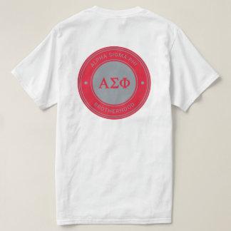Alpha insigne du phi | de sigma t-shirt