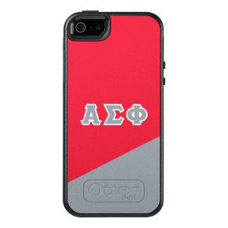 Alpha lettres de Grec du phi | de sigma Coque OtterBox iPhone 5, 5s Et SE