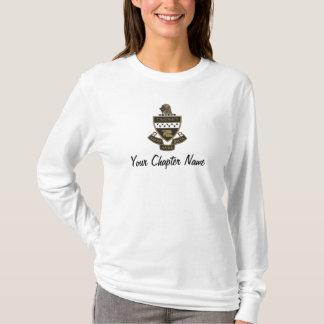 Alpha manteau de thêta de Kappa des bras : Couleur T-shirt