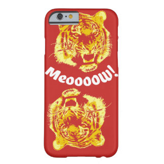 Alpha Meow de tigre Coque Barely There iPhone 6