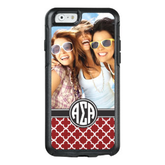 Alpha monogramme et photo de l'alpha | de sigma coque OtterBox iPhone 6/6s