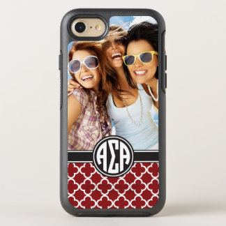Alpha monogramme et photo de l'alpha | de sigma coque otterbox symmetry pour iPhone 7
