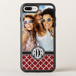 Alpha monogramme et photo de l'alpha | de sigma coque otterbox symmetry pour iPhone 7 plus