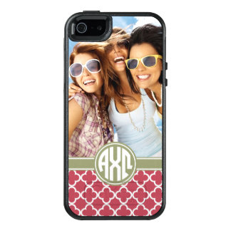 Alpha monogramme et photo d'Omega | de Chi Coque OtterBox iPhone 5, 5s Et SE
