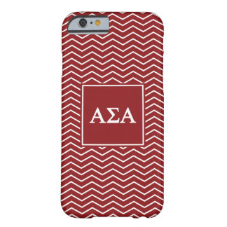 Alpha motif de l'alpha | Chevron de sigma Coque Barely There iPhone 6