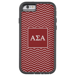 Alpha motif de l'alpha | Chevron de sigma Coque Tough Xtreme iPhone 6