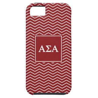 Alpha motif de l'alpha | Chevron de sigma Coques iPhone 5 Case-Mate