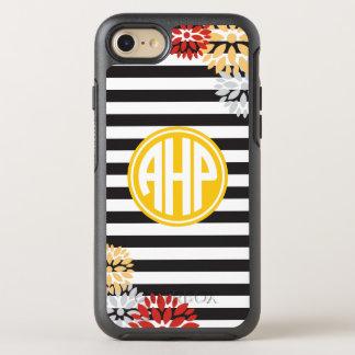Alpha motif de rayure de monogramme du Rho | d'Eta Coque Otterbox Symmetry Pour iPhone 7
