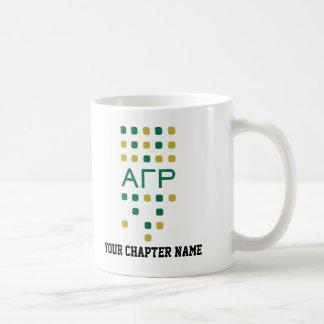 Alpha Rho gamma - lettres verticales Mug